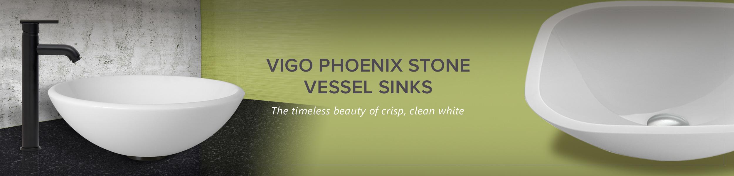 Phoenix Stone Vessel Sinks