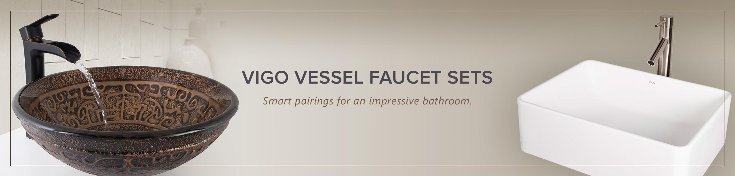 Vessel Faucet Sets