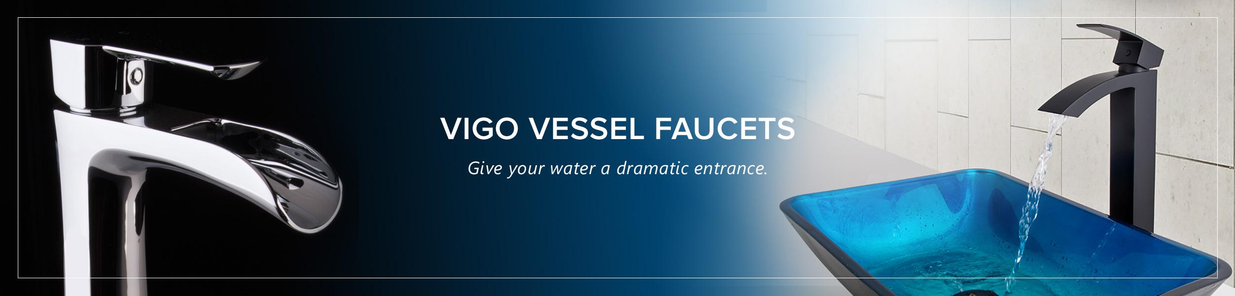 Vessel Faucet