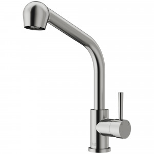 VIGO Avondale Pull-Out Spray Kitchen Faucet In Stainless Steel