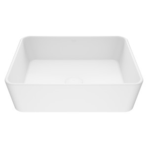 VIGO Marigold Matte Stone Vessel Bathroom Sink