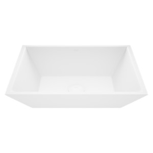 VIGO Vinca Matte Stone Vessel Bathroom Sink
