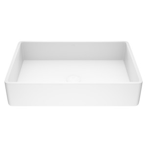 VIGO Magnolia Matte Stone Vessel Bathroom Sink