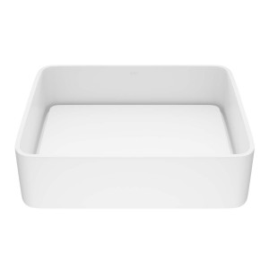 VIGO Jasmine Matte Stone Vessel Bathroom Sink