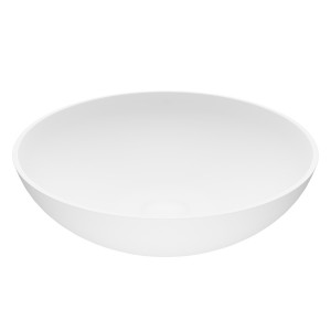 VIGO Lotus Matte Stone™ Vessel Bathroom Sink