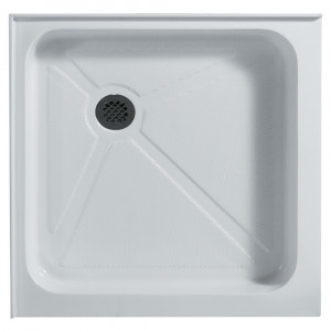 Square Shower Tray White