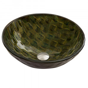 Amazonia Glass Vessel Sink