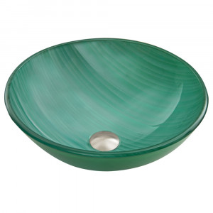Whispering Wind Glass Vessel Sink