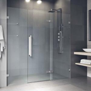 Vigo Seneca 72X74 Adjustable Frameless Hinged Shower Door