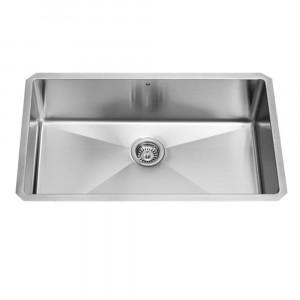 32-inch Undermount Stainless Steel 16 Gauge Kitchen Sink
