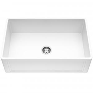 VIGO 30-Inch Crown Apron Front Matte Stone Farmhouse Kitchen Sink