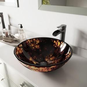 Tempered Glass Sink Sets Bathroom Sets Bathroom