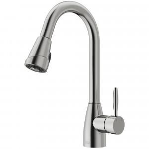 VIGO Graham Pull-Down Spray Kitchen Faucet