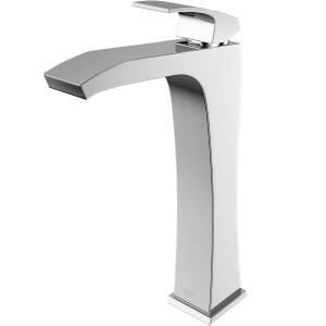 VIGO Blackstonian Vessel Bathroom Faucet