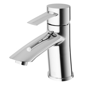 VIGO Bova Single Hole Bathroom Faucet