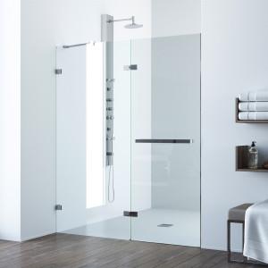 Shower doors shower vigo nyos adjustable frameless shower door planetlyrics Choice Image