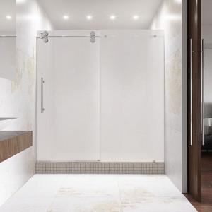 vigo shower doors. VIGO Elan Adjustable Frameless Sliding Shower Door Vigo Doors S