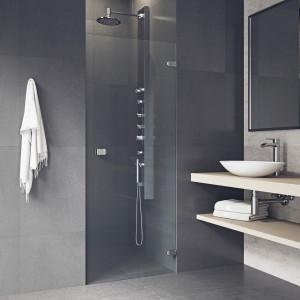 VIGO Tempo Adjustable Frameless Shower Door