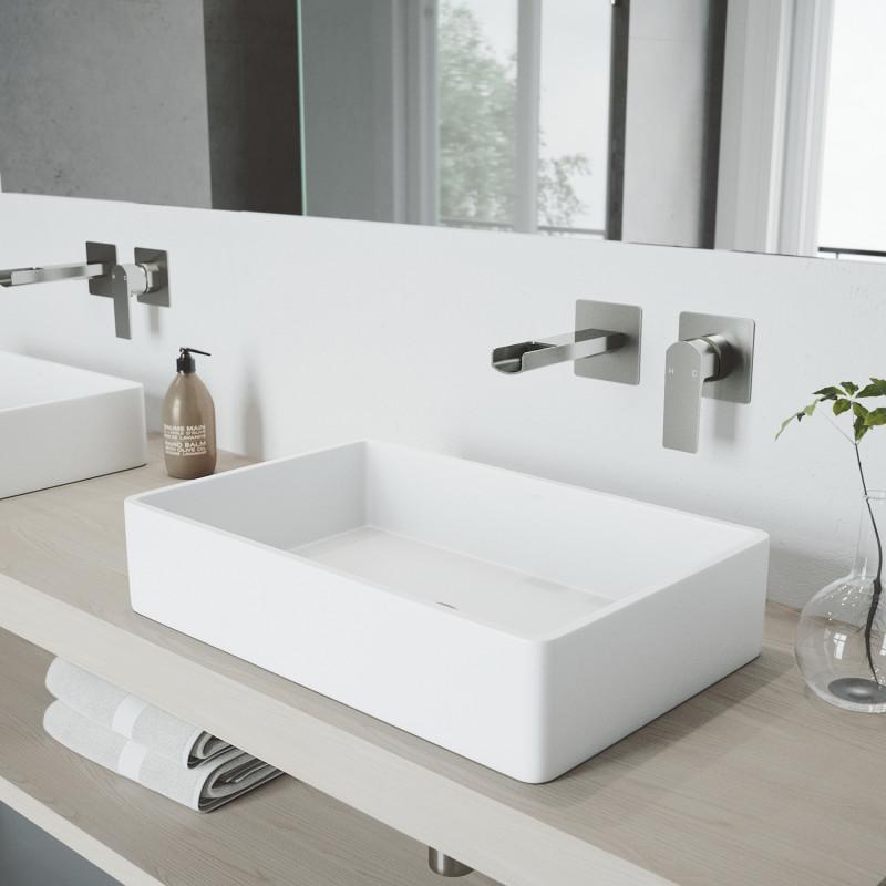 Vigo Atticus Wall Mount Bathroom Faucet