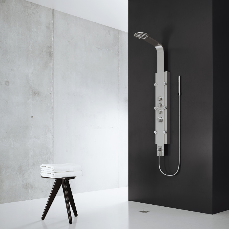 Vigo Mateo Shower Massage Panel With Spout