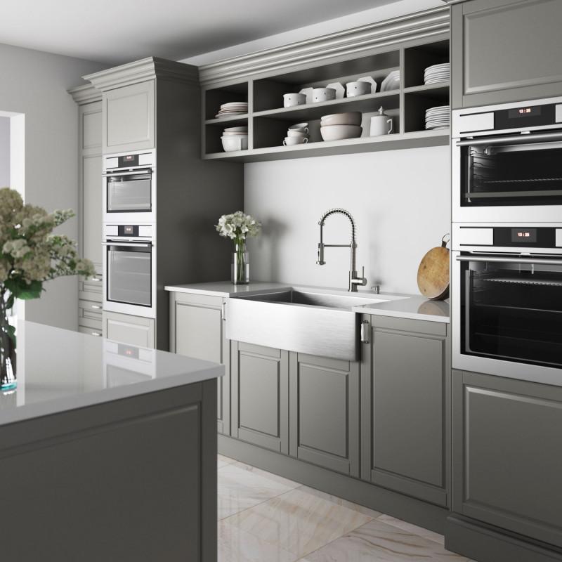 Fashion Stainless Steel Kitchen Appliances Sewer Convenient Filter Kitchen Clean