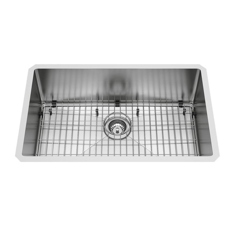 Phenomenal Vigo 30 Mercer Stainless Steel Undermount Kitchen Sink Home Interior And Landscaping Palasignezvosmurscom