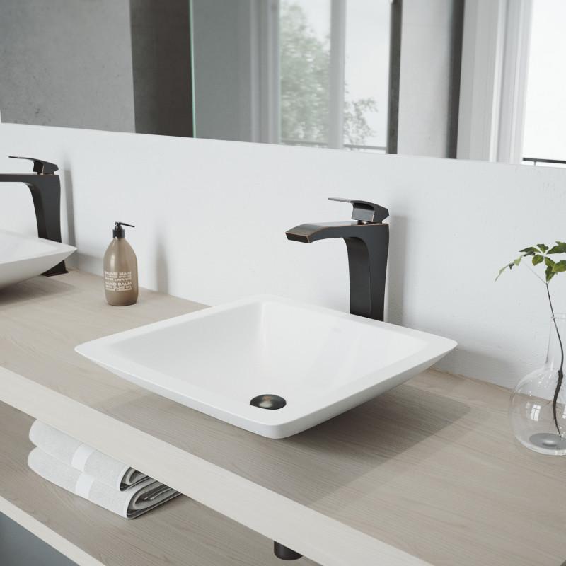 amazing marble countertop sink design and modern faucet.htm vigo begonia matte stone    vessel bathroom sink set with  vigo begonia matte stone    vessel