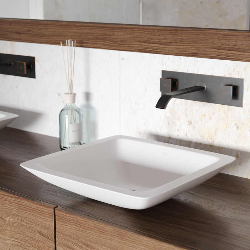 Square Bathroom Sink Undermount
