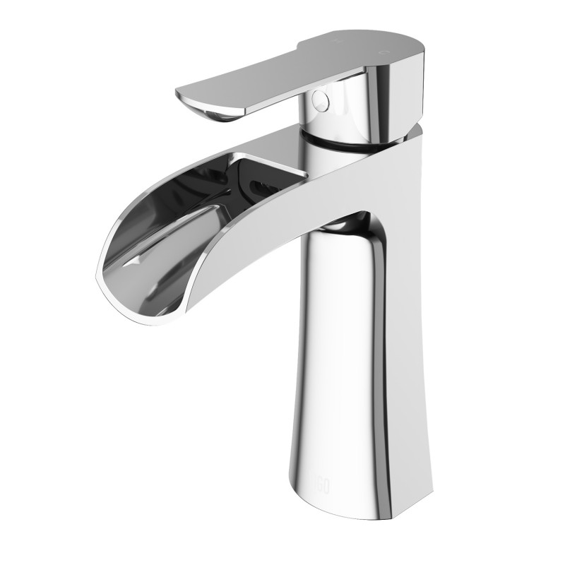 VIGO Paloma Single Hole Bathroom Faucet - Single Hole Faucet - Bathroom Faucet - Bathroom