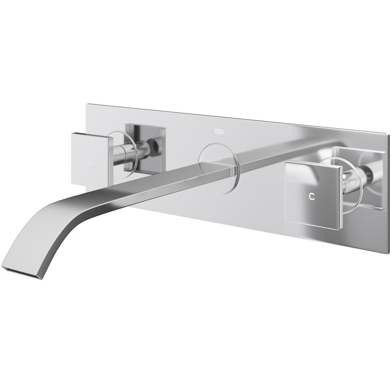 VIGO Titus Wall Mount Bathroom Faucet