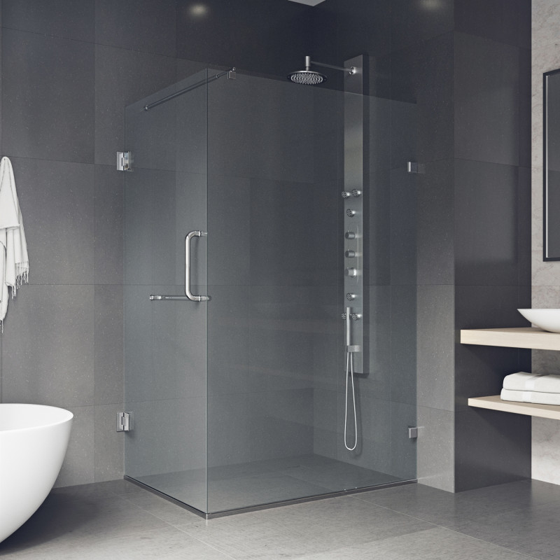 Vigo Pacifica Frameless Shower Enclosure