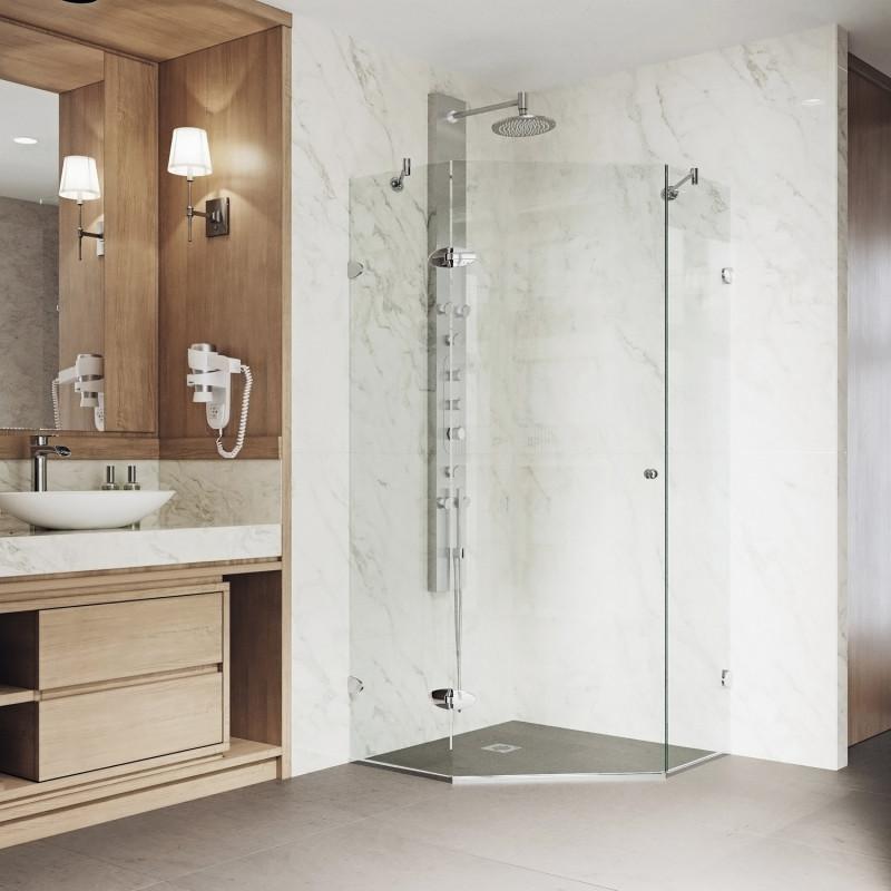 VIGO Verona Frameless Neo-Angle Shower Enclosure