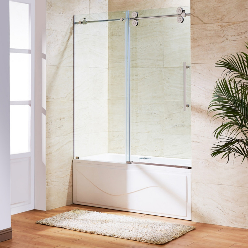 VIGO Elan Framless Glass Tub Door